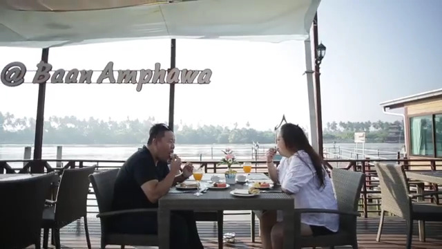 baanamphawa by the river