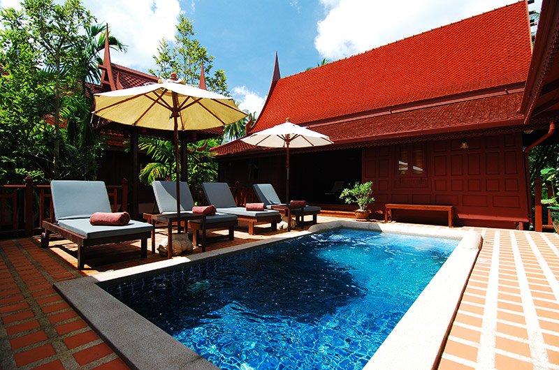 Thai Village - Pool Suites - Pool Area