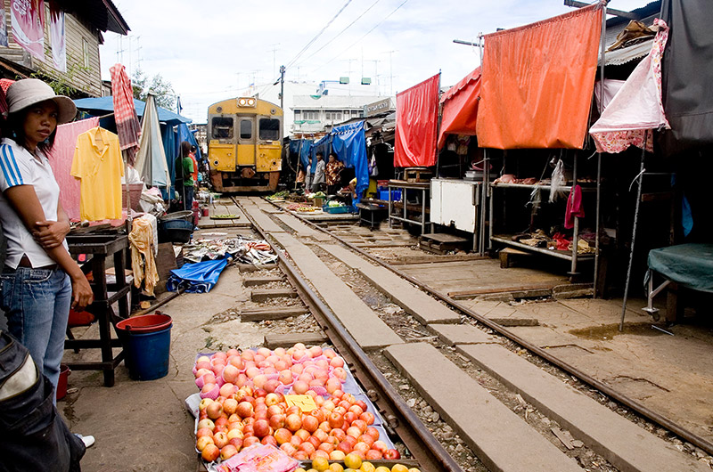 The First and the Only..Thai Railway Market